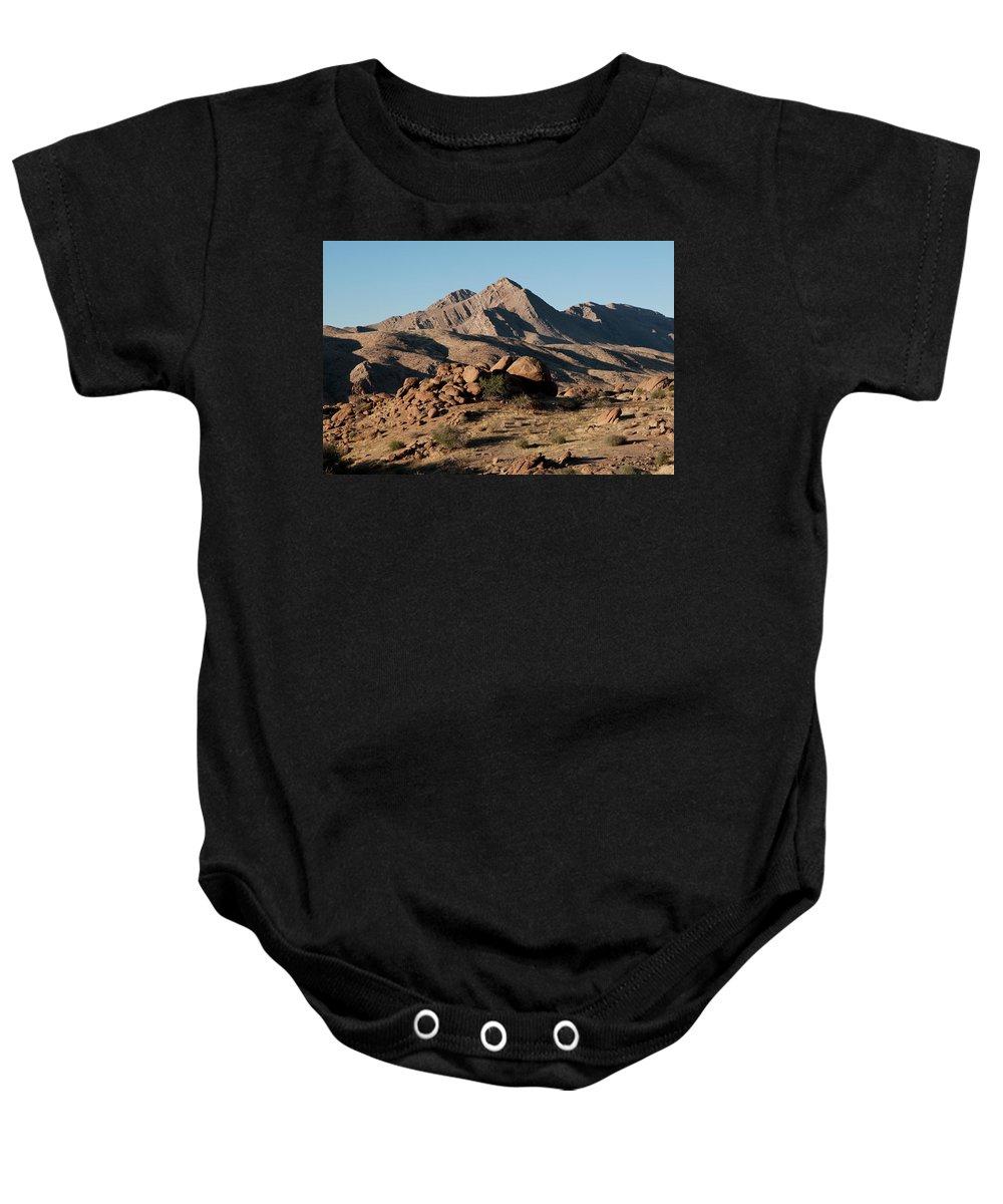 Gold Butte Region Baby Onesie featuring the photograph Golden Gold Butte by Lorraine Devon Wilke