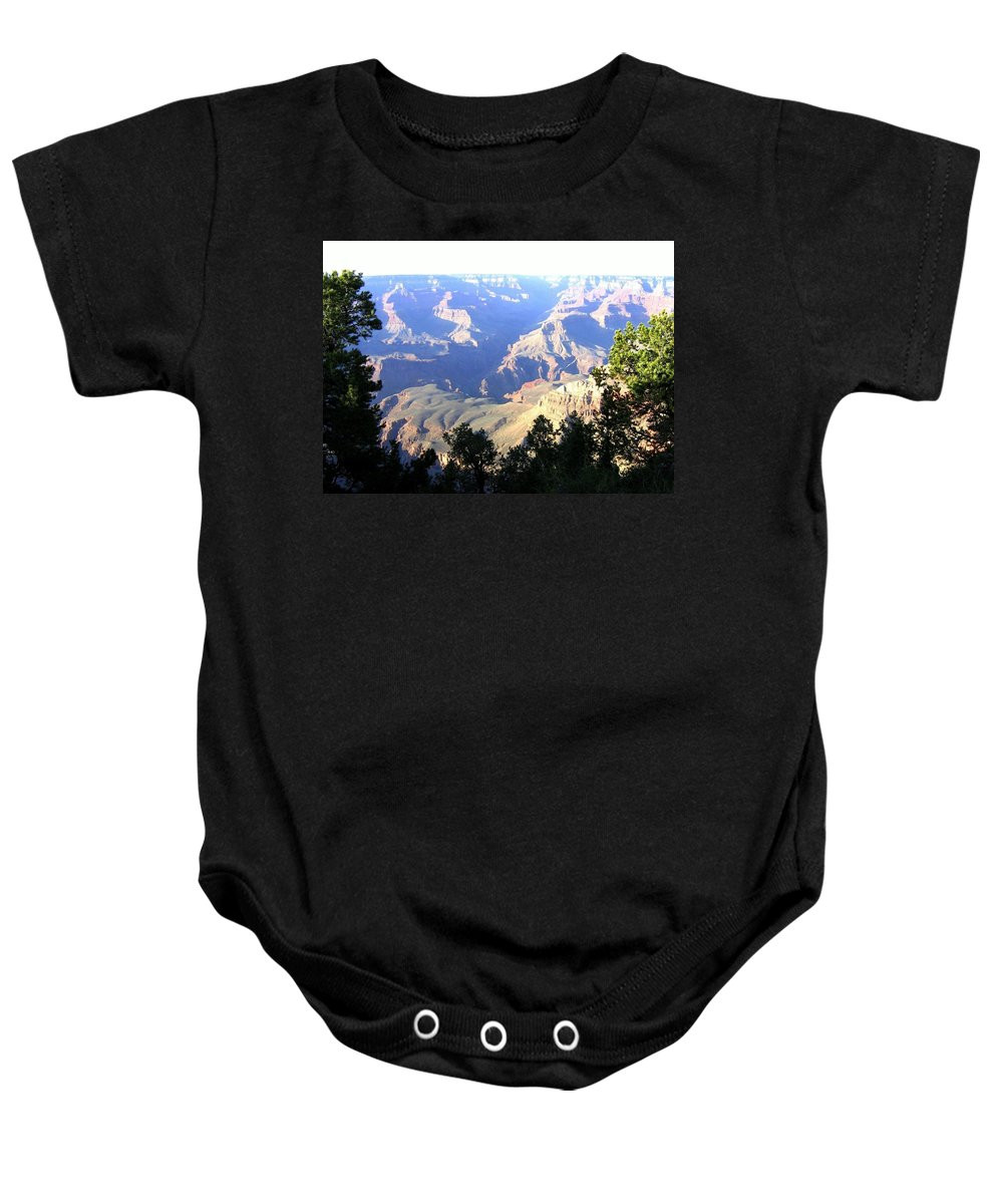 Grand Canyon Baby Onesie featuring the photograph Grand Canyon 56 by Will Borden