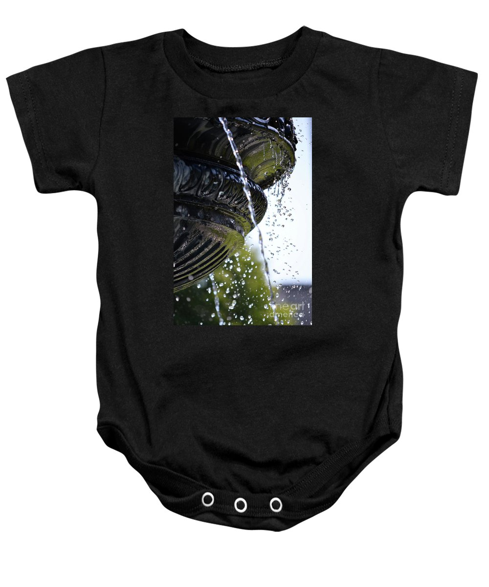 British Columbia Baby Onesie featuring the photograph Grief by Traci Cottingham