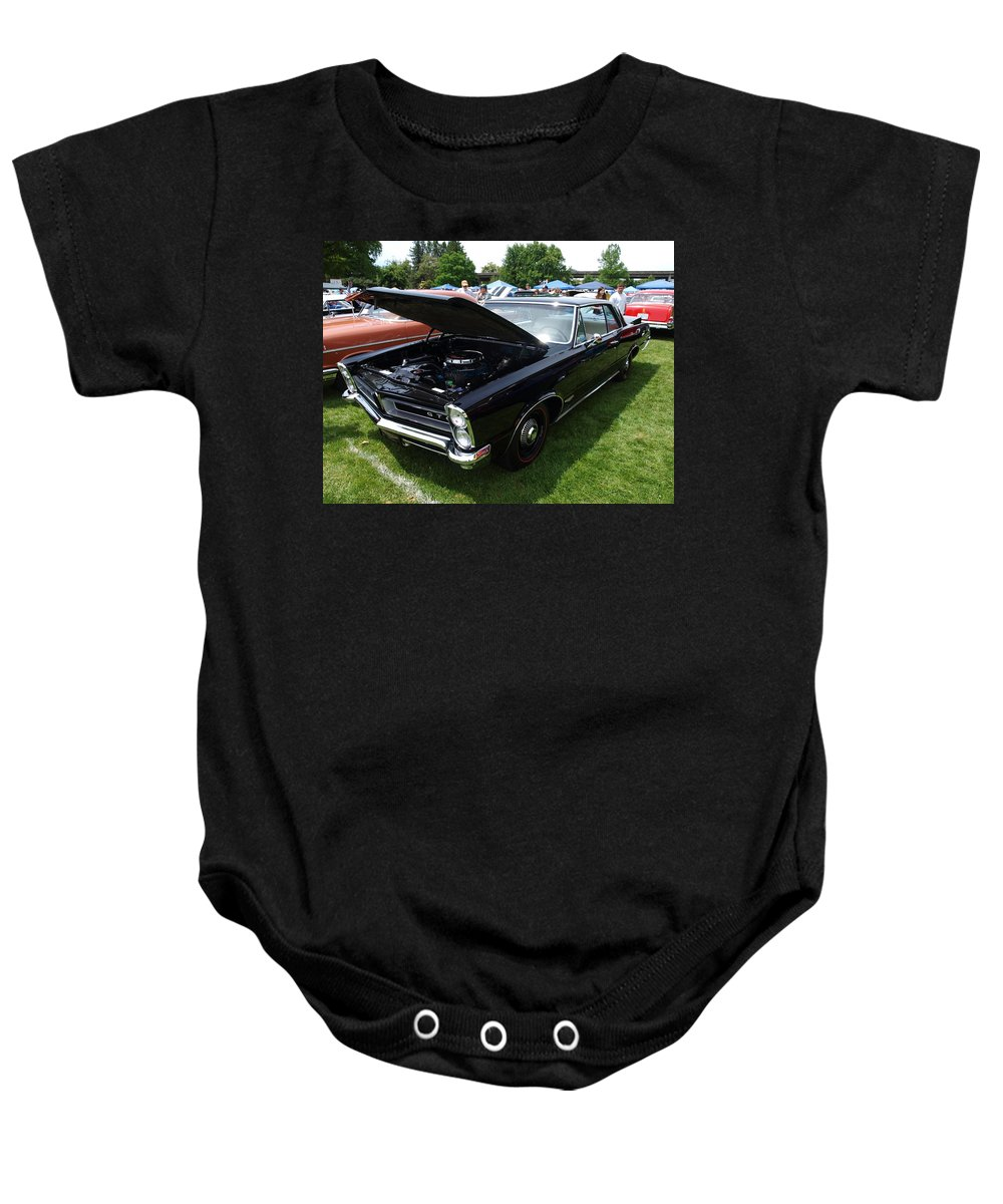 Car Baby Onesie featuring the photograph GTO by Teri Schuster