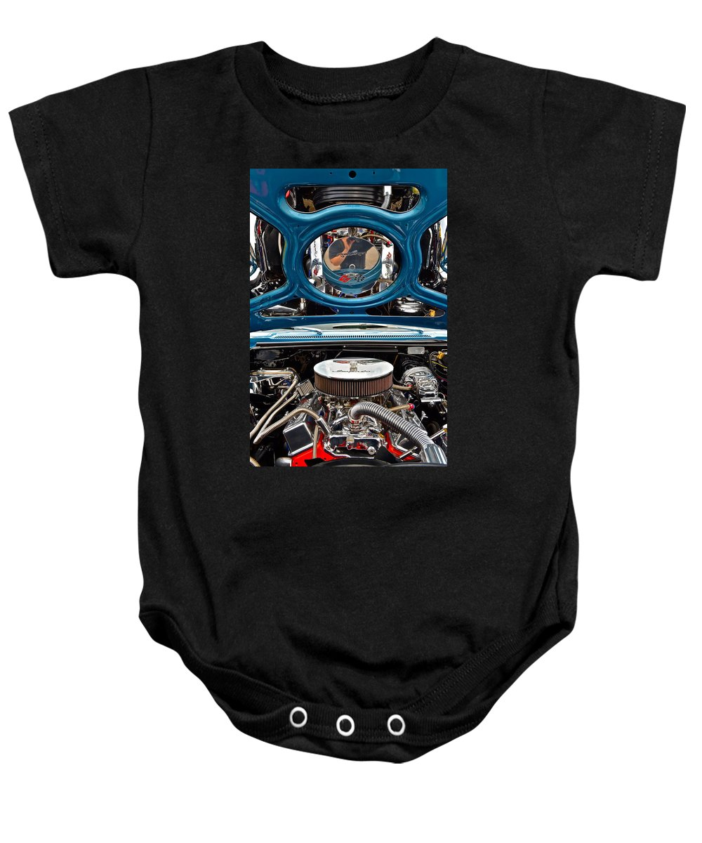 Hot Baby Onesie featuring the photograph Hot Rod by Frozen in Time Fine Art Photography