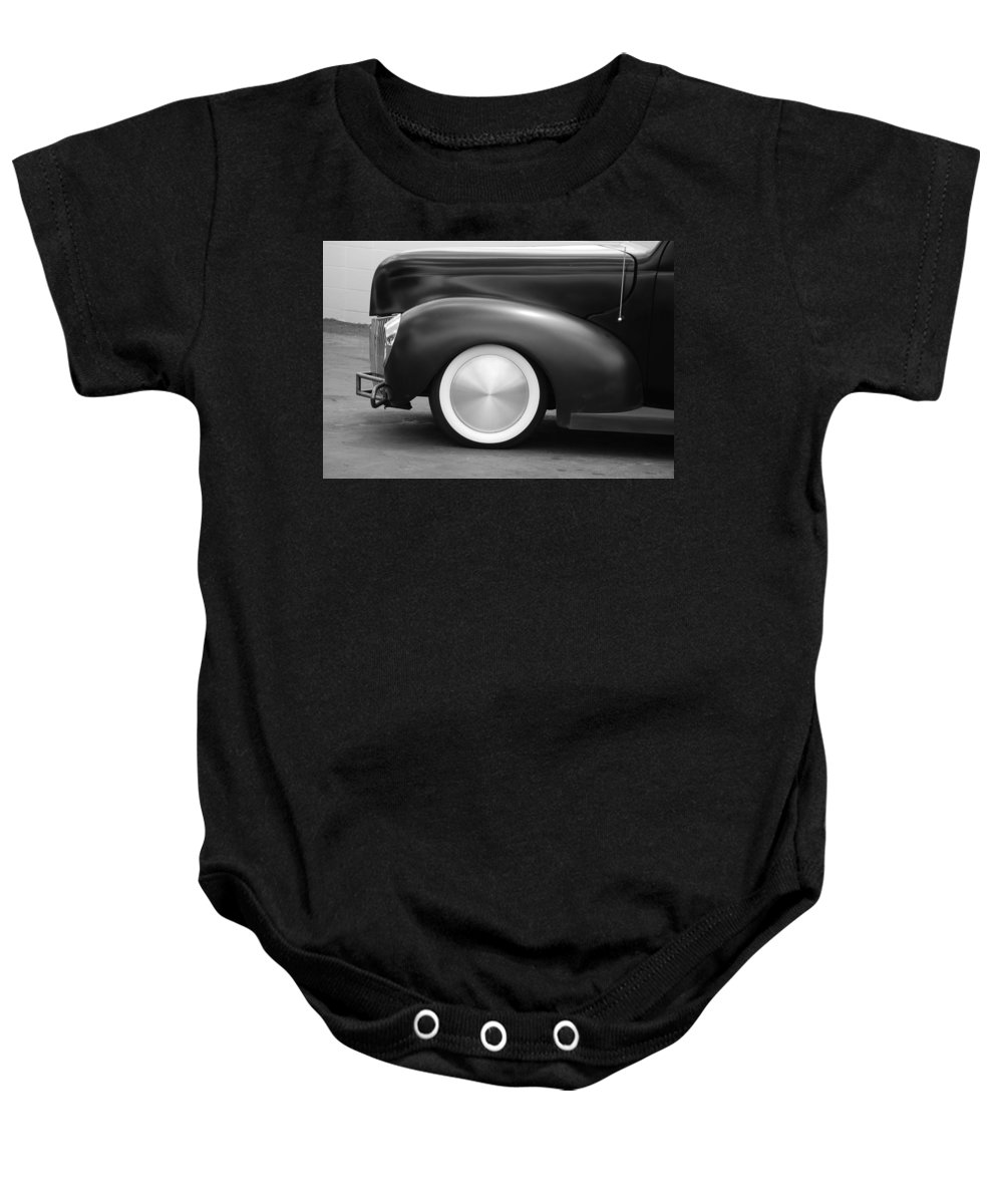 Hot Rod Baby Onesie featuring the photograph Hot Rod Wheels by Rob Hans