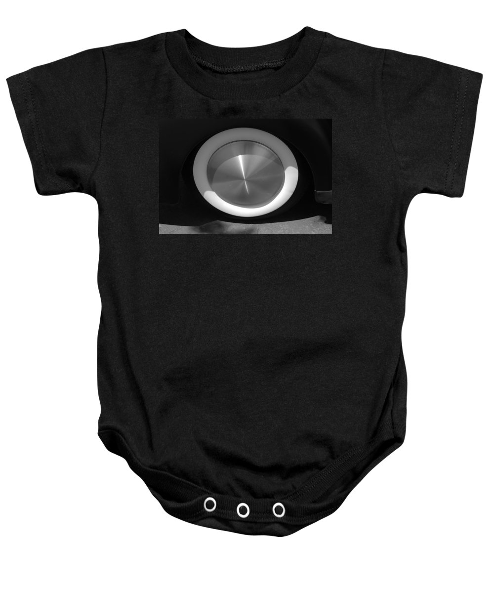 Hot Rod Baby Onesie featuring the photograph Hot Rod White Wall by Rob Hans