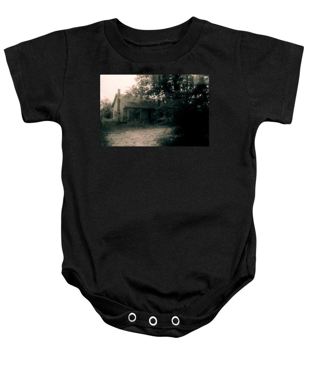 Louisiana Baby Onesie featuring the photograph House- Delta Louisiana by Doug Duffey