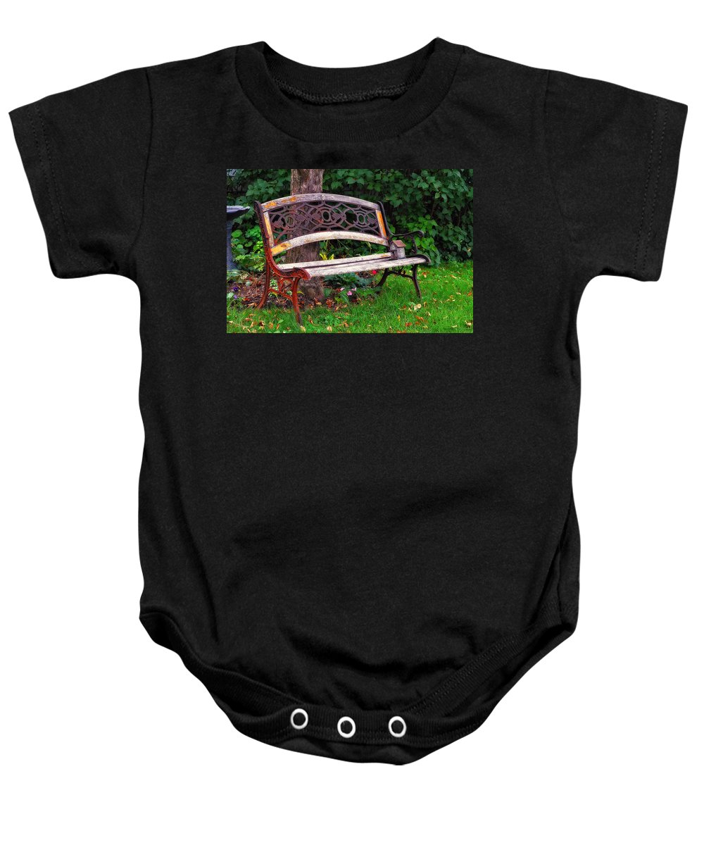 Acrylic Prints Baby Onesie featuring the photograph House Sitting For The Summer by John Herzog