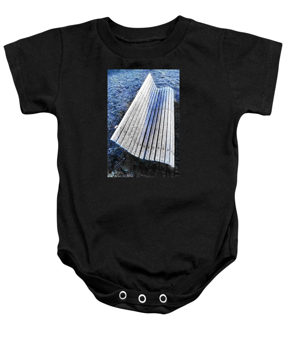 Frost Baby Onesie featuring the photograph In The Cold Light Of Dawn by Steve Taylor