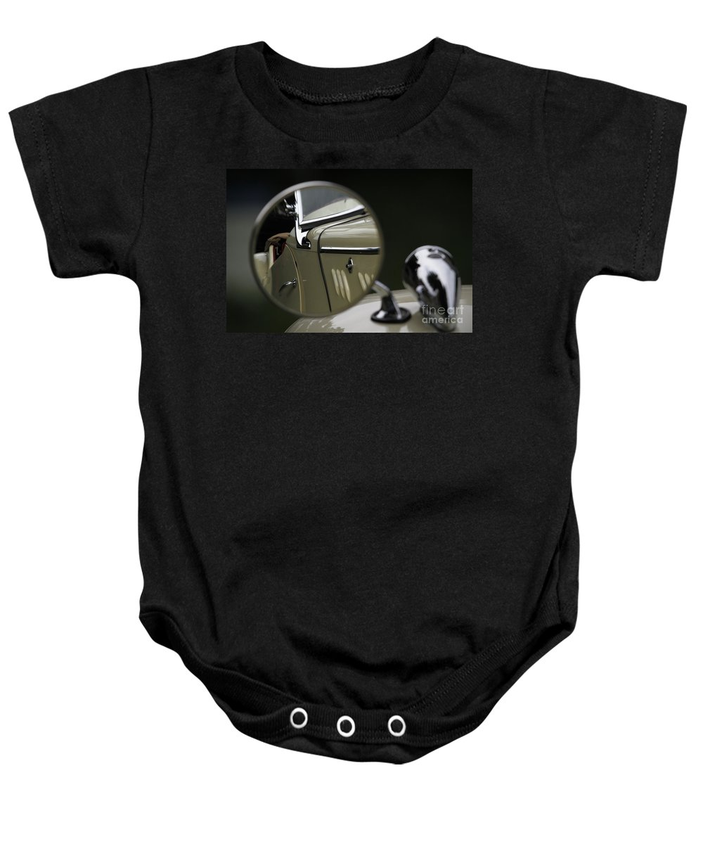 Classic Baby Onesie featuring the photograph In The Mirror by Dennis Hedberg