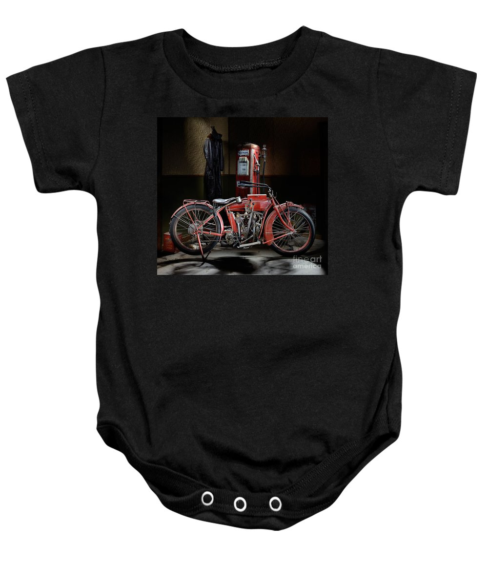 Indian Baby Onesie featuring the photograph Indian Hedstrom by Frank Kletschkus
