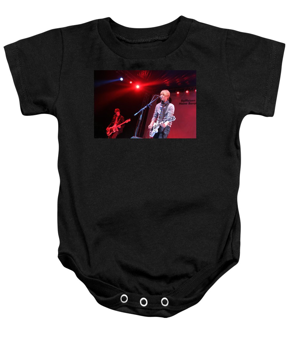 Inem Baby Onesie featuring the photograph Inem At Nativity Chritmas Festival by Munir Alawi