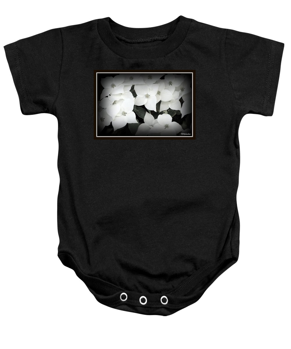 Dogwood Baby Onesie featuring the photograph Inflorescence by Priscilla Richardson