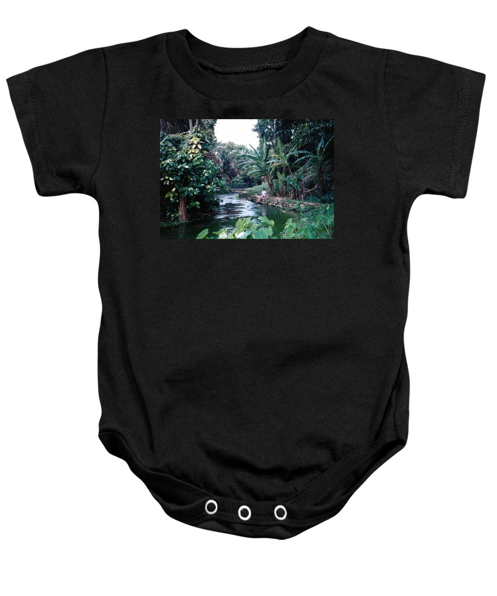 Jamaica Baby Onesie featuring the photograph Jamaica - The Beautiful by Debbie Levene