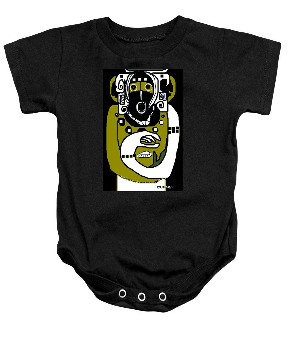Ancient Civilizations Baby Onesie featuring the photograph Kachina 1b by Doug Duffey