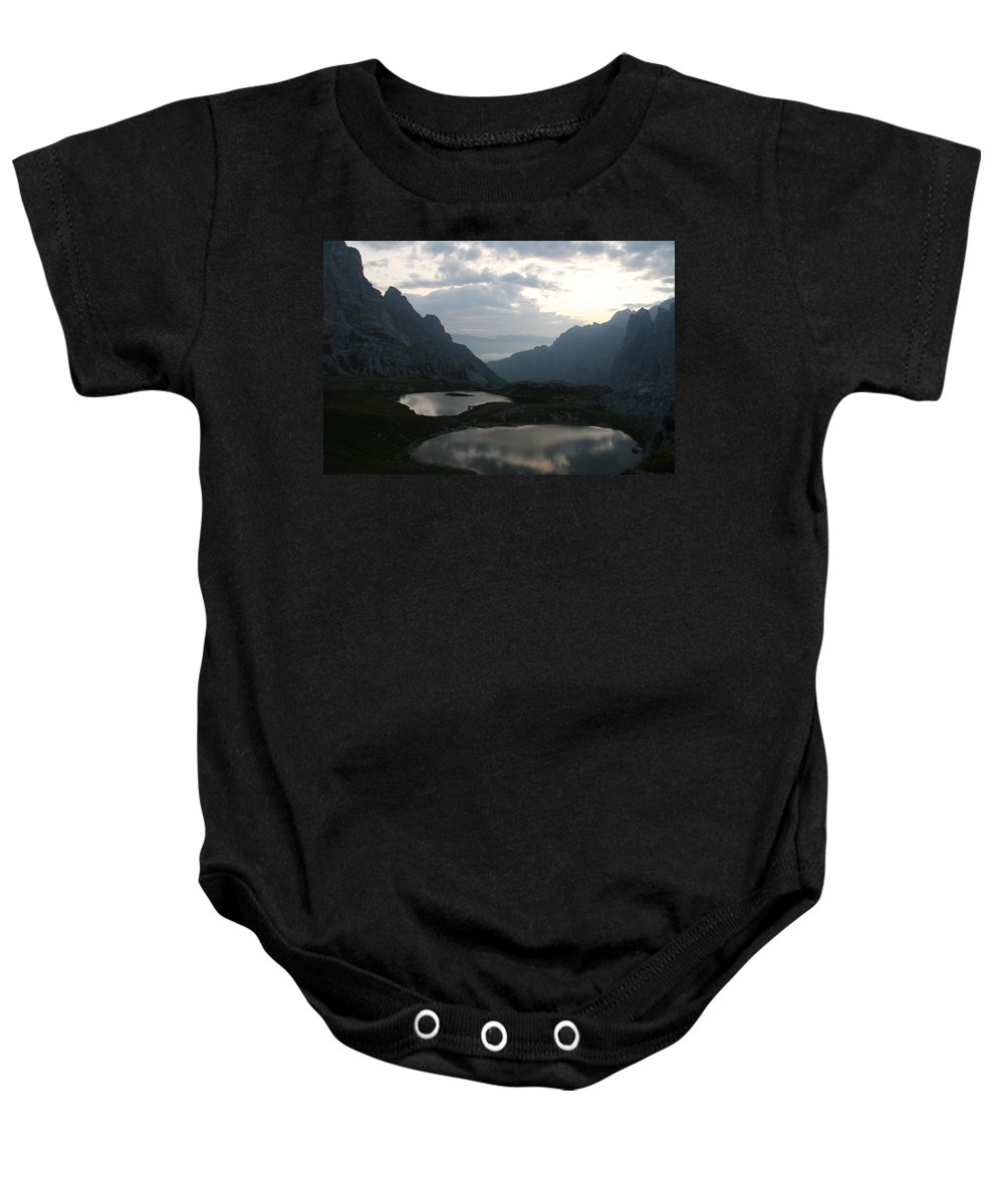 Lake Baby Onesie featuring the photograph Lakes In Dolomiti by Francesco Scali
