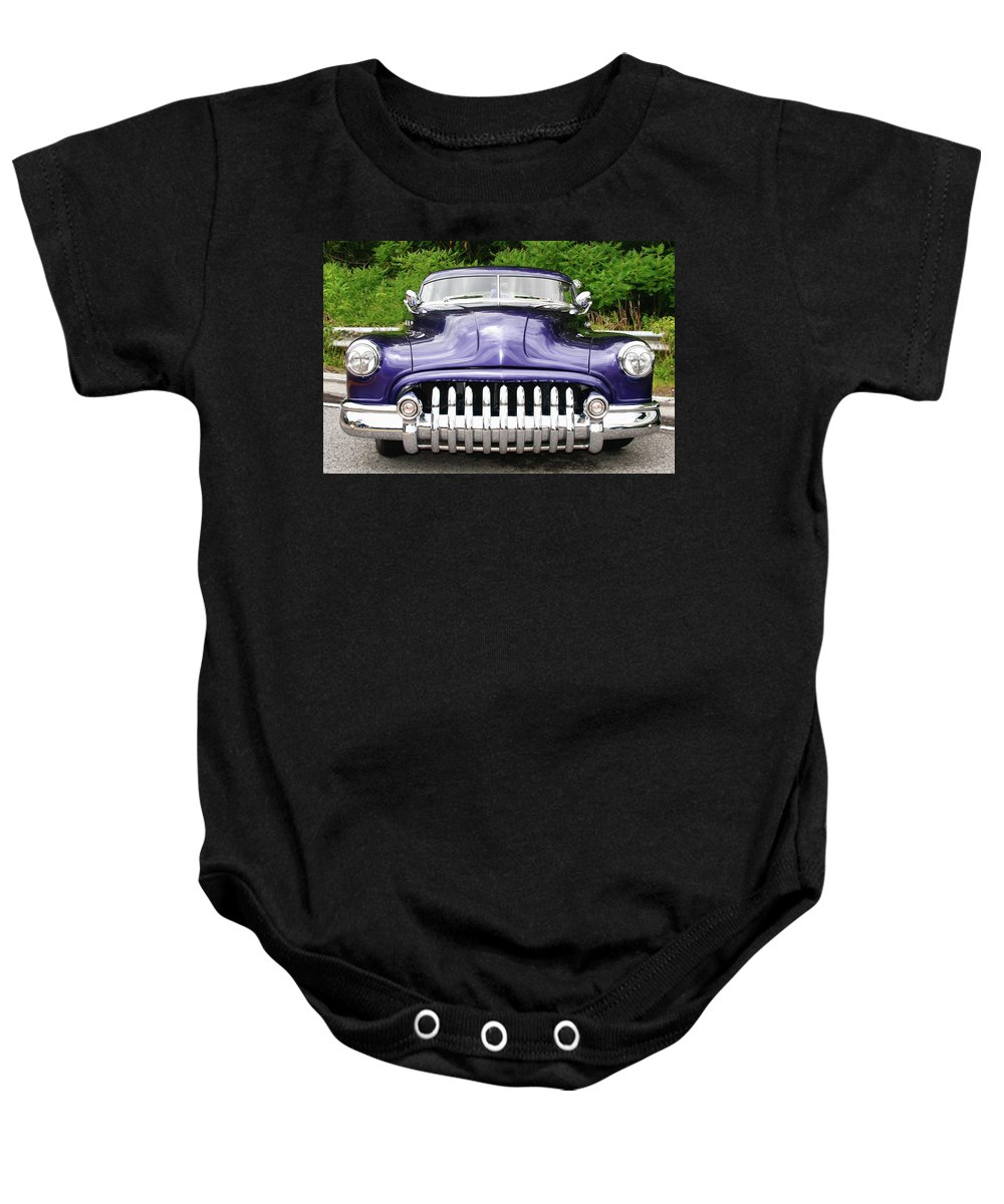 Automobile Baby Onesie featuring the photograph Lead Sled  7768a by Guy Whiteley
