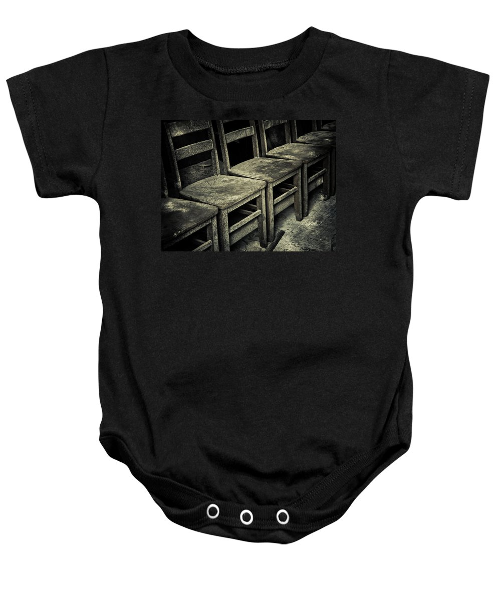 Lessons Baby Onesie featuring the photograph Lessons by Jessica Brawley