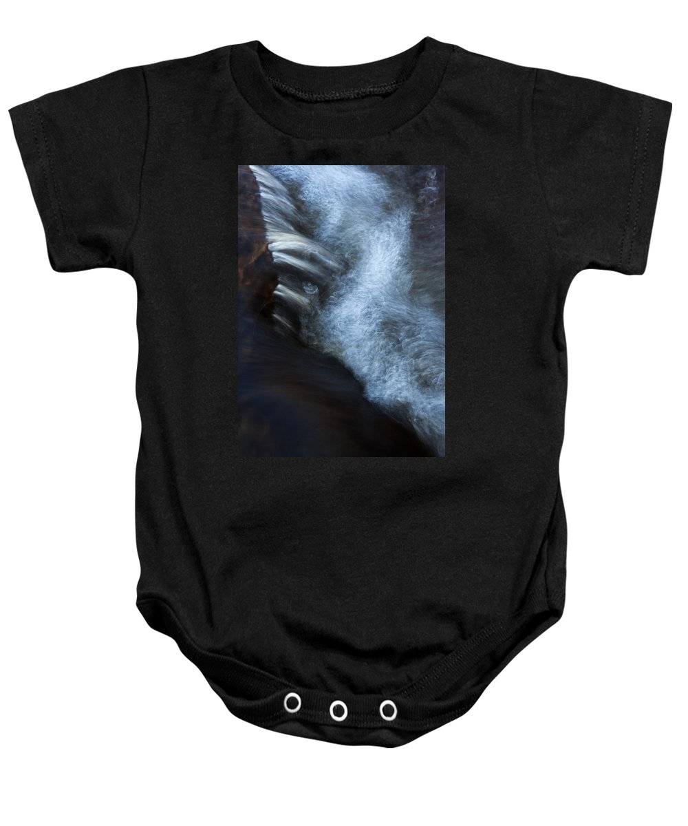 Water Baby Onesie featuring the photograph Liquid Motion by Jeff Galbraith