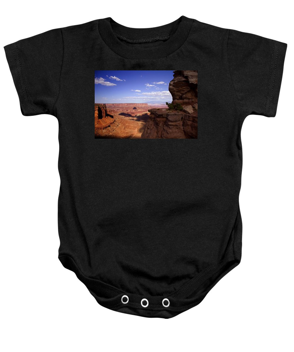 Canyonlands Baby Onesie featuring the photograph Majestic Views - Canyonlands by Ellen Heaverlo
