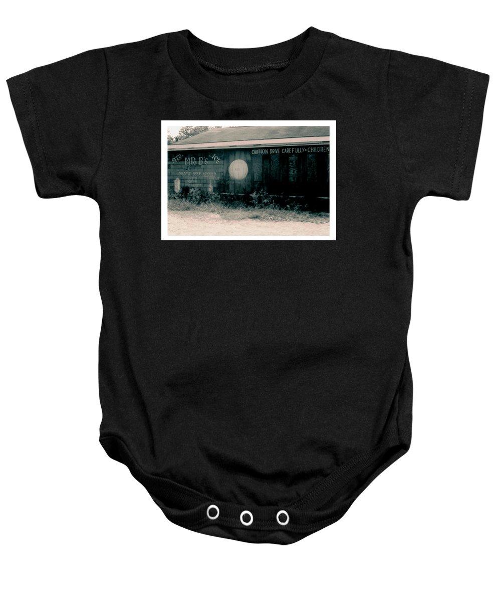 Louisiana Baby Onesie featuring the photograph Mr Bs Jeanerette- Louisiana by Doug Duffey