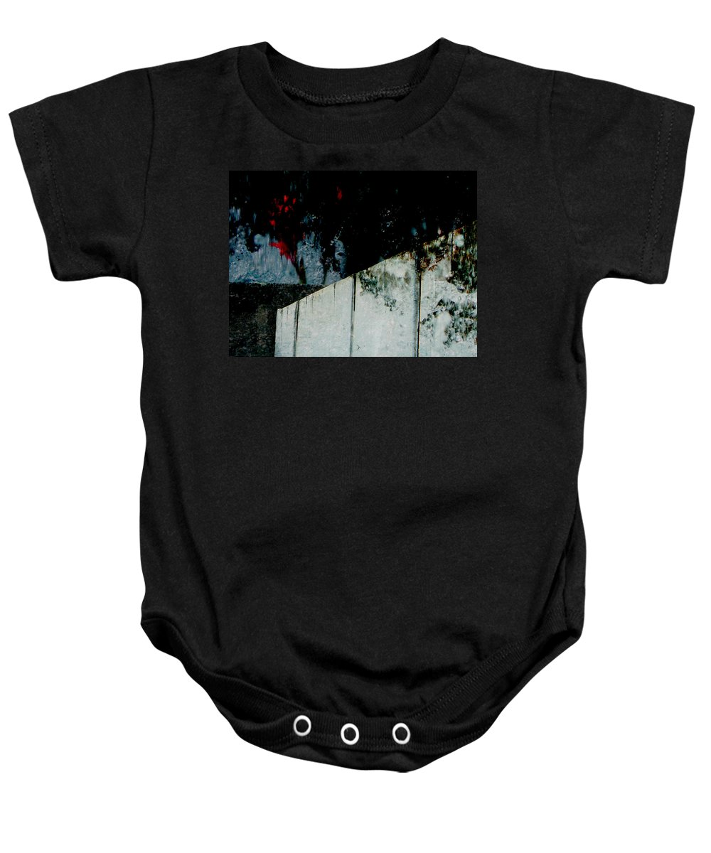 Abstract Baby Onesie featuring the photograph Night Moods by Lenore Senior