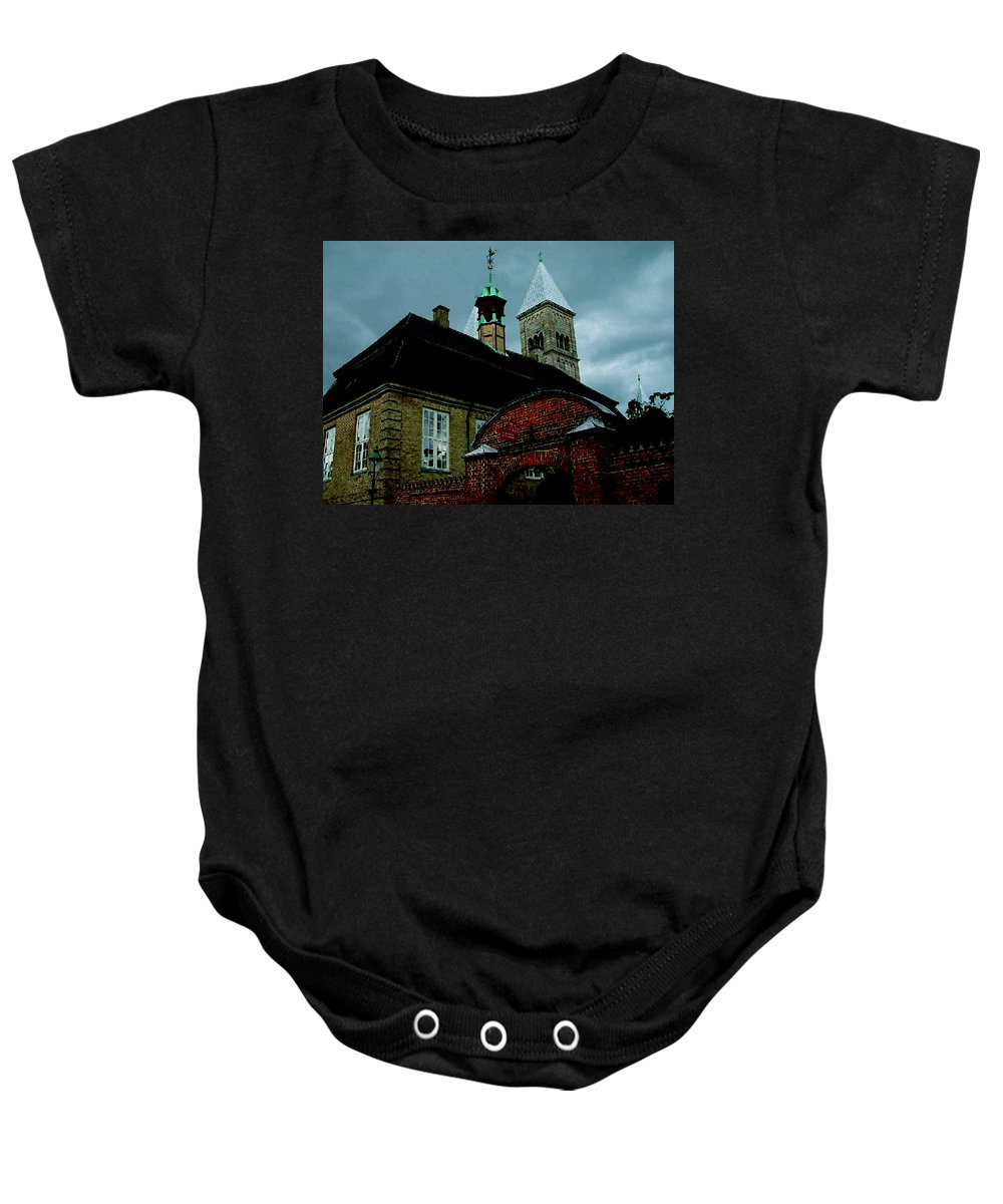 Colette Baby Onesie featuring the photograph Old Part Of Town by Colette V Hera Guggenheim
