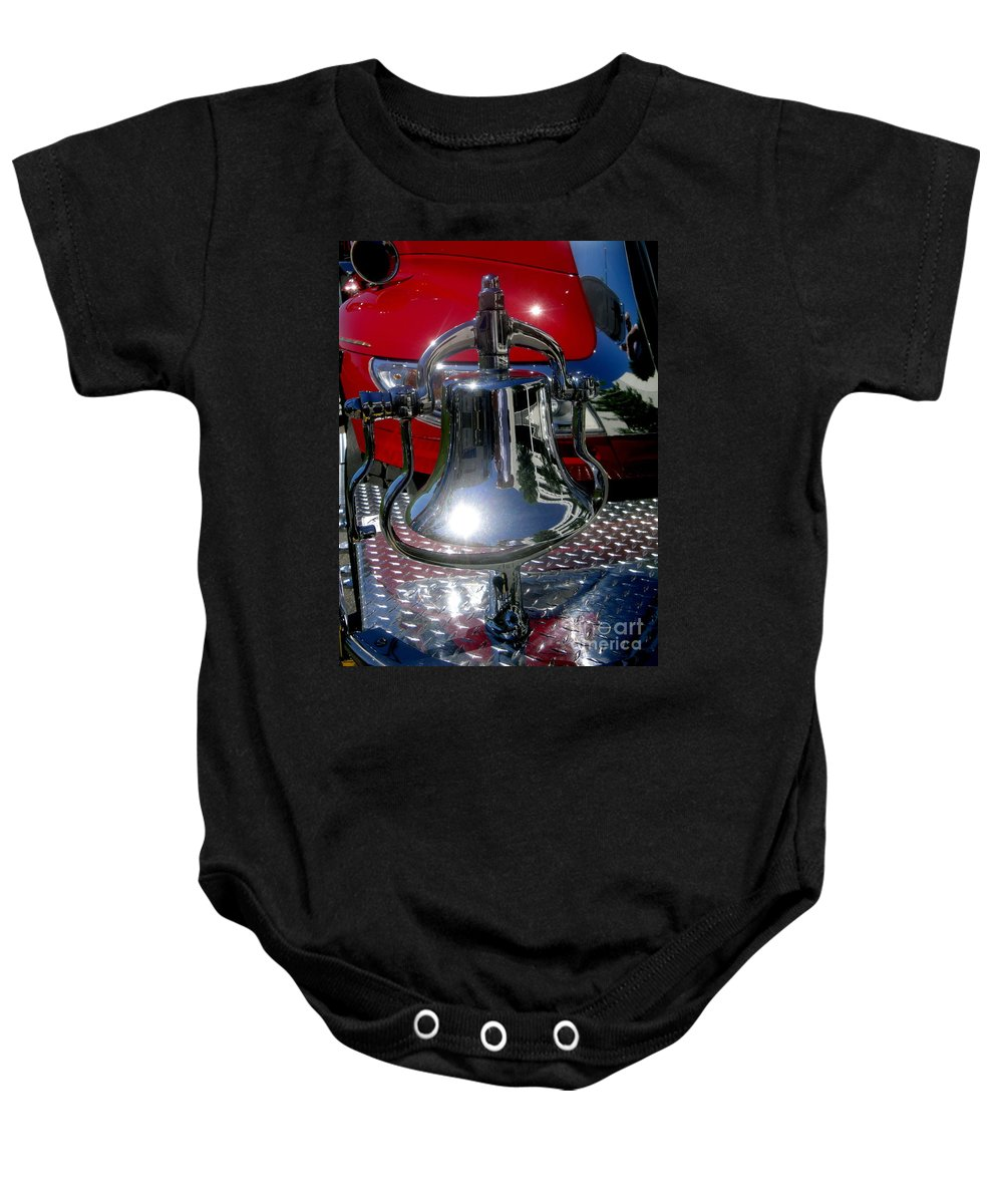 Bell Baby Onesie featuring the photograph One Bell by Kevin Fortier