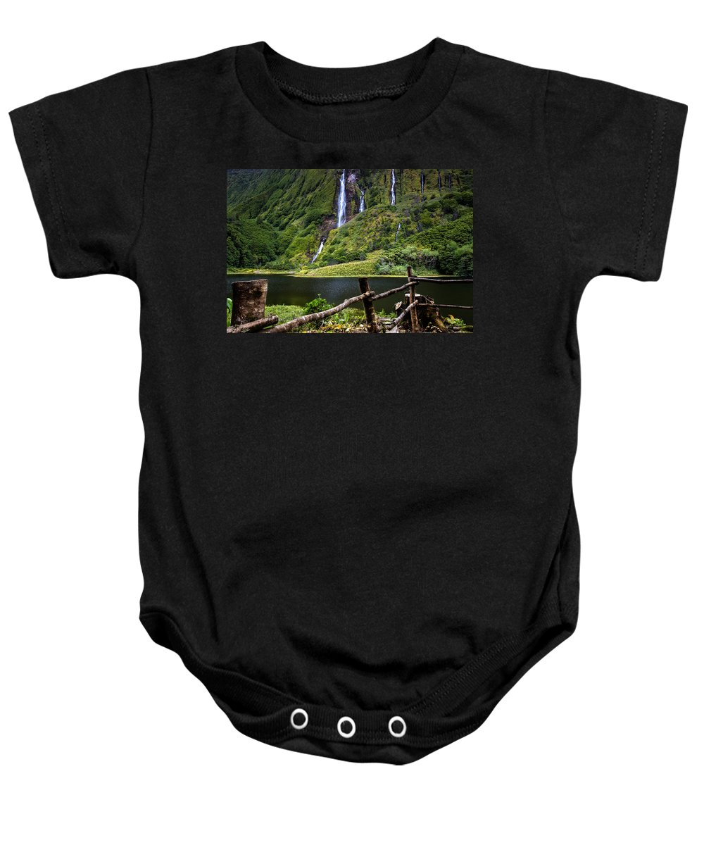 Waterfalls Baby Onesie featuring the photograph Paradise by Edgar Laureano