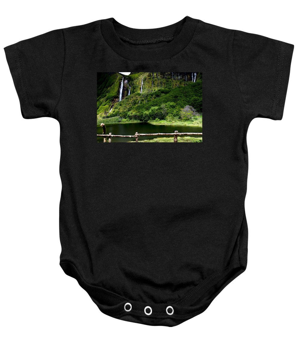 Waterfalls Baby Onesie featuring the photograph Paradise II by Edgar Laureano
