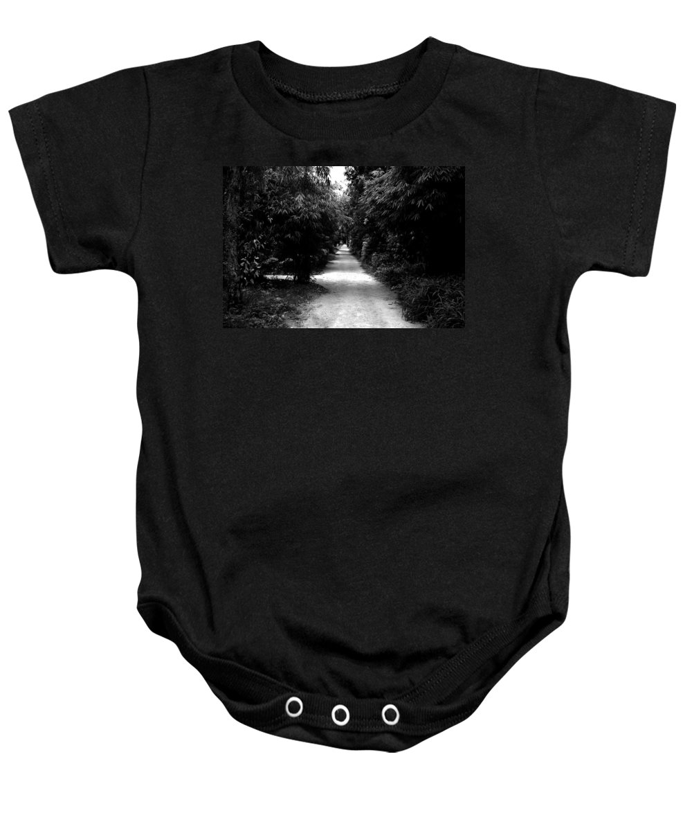 Path Baby Onesie featuring the photograph Path by Sumit Mehndiratta