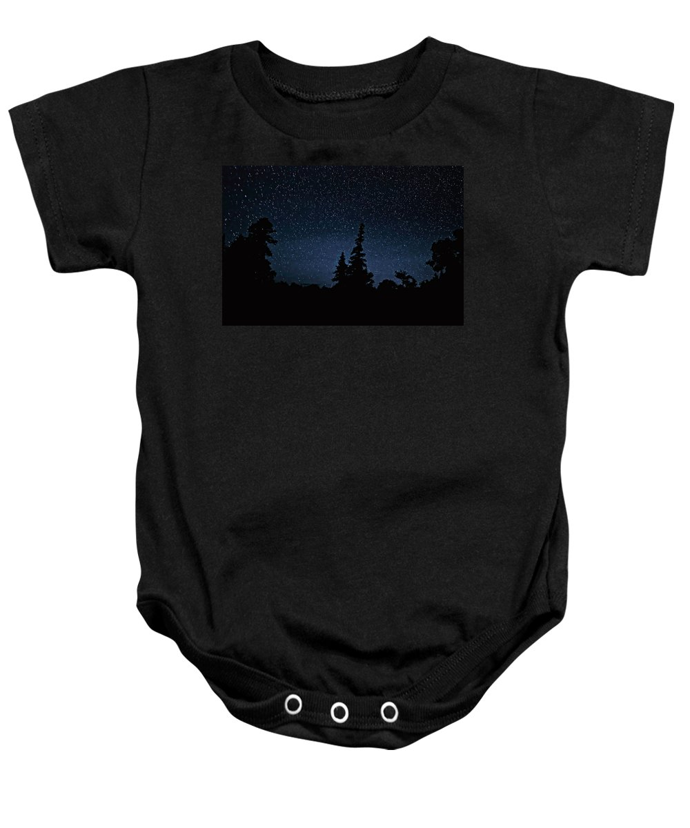 Galaxy Baby Onesie featuring the photograph Perspective by Steve Harrington