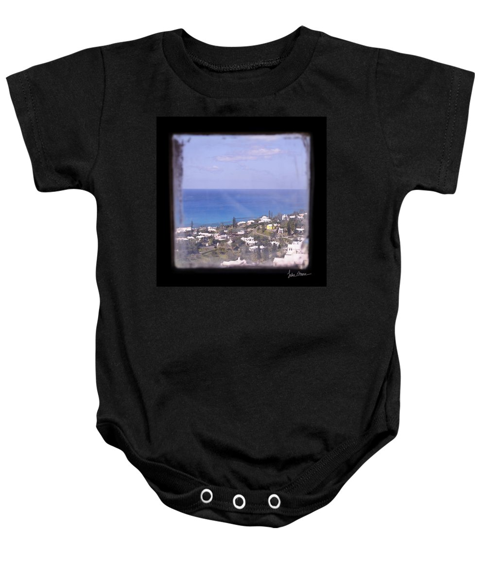 Lighthouse Baby Onesie featuring the photograph Picture A Moment by Luke Moore