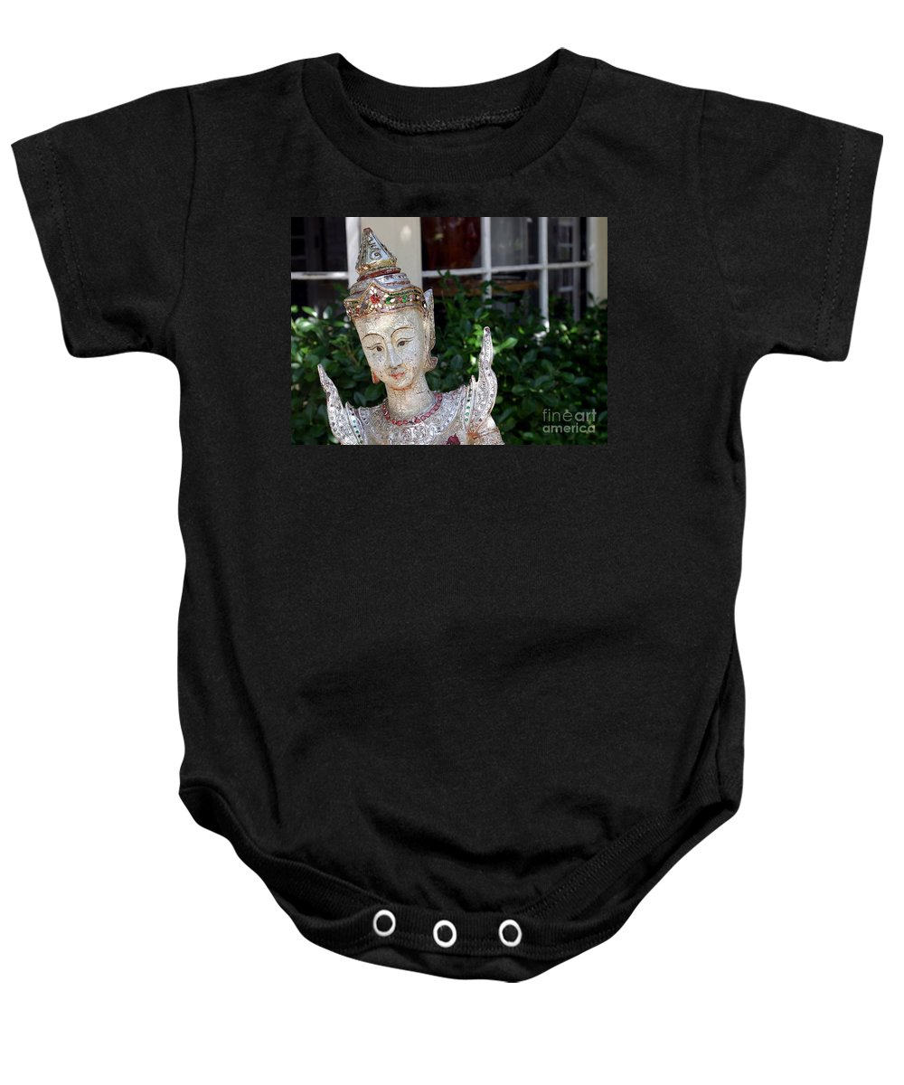Garden Baby Onesie featuring the photograph Pretty Garden by Living Color Photography Lorraine Lynch