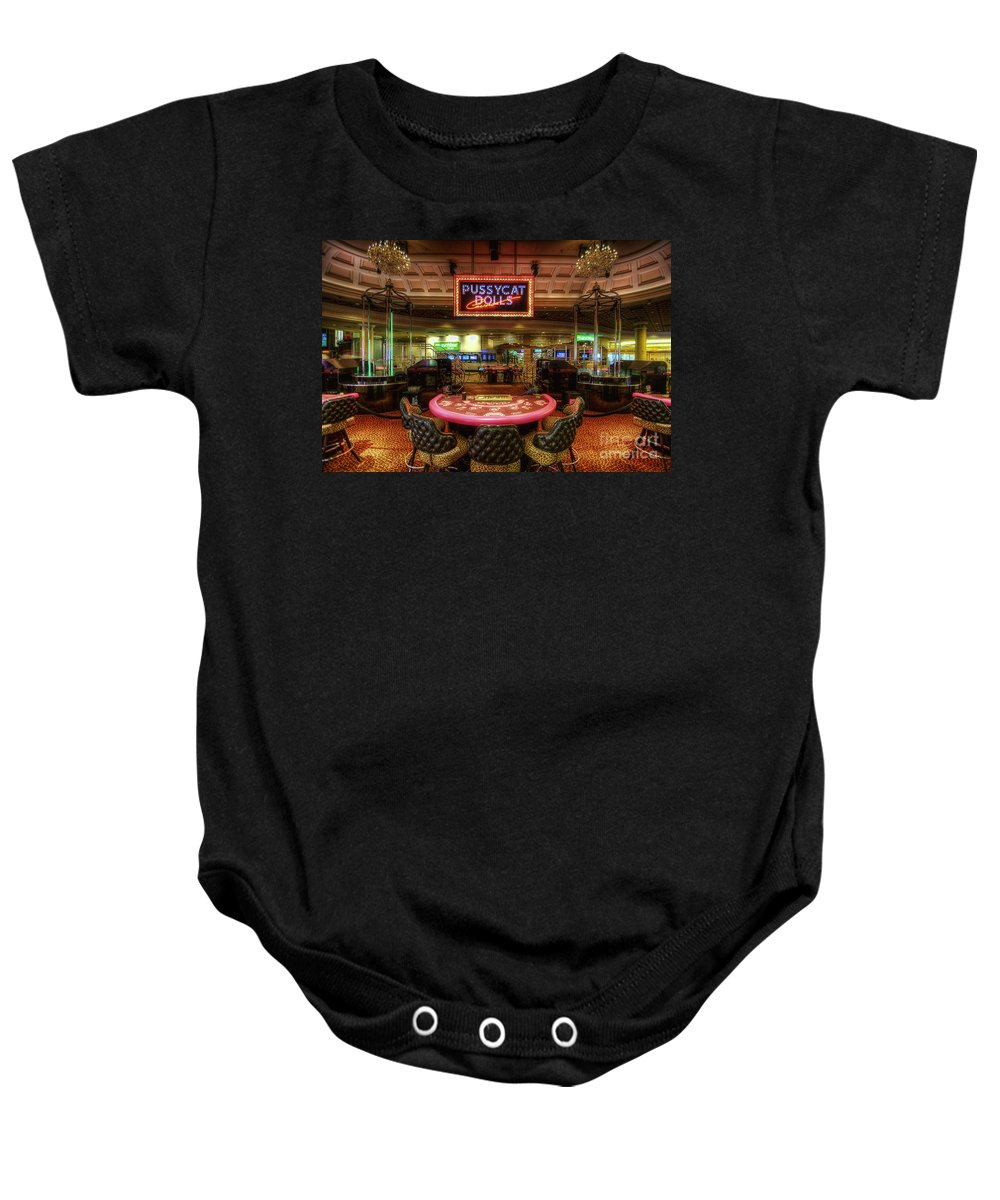 Art Baby Onesie featuring the photograph Pussycat Dolls by Yhun Suarez