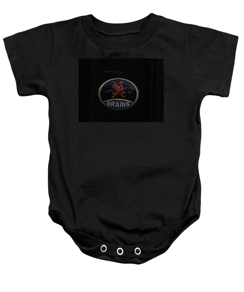 Brains Baby Onesie featuring the photograph Red Dragon by Ian Kowalski