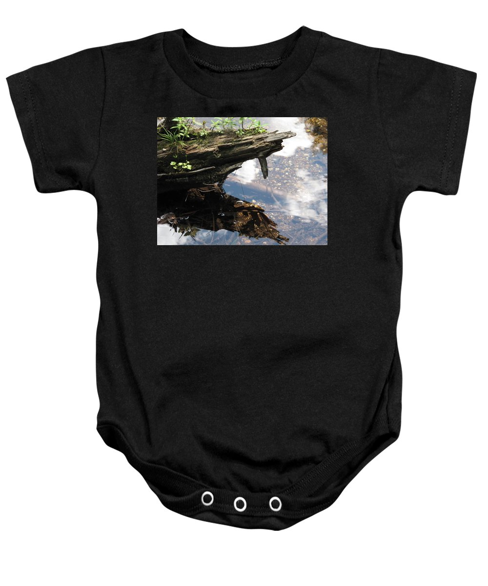 Wood Baby Onesie featuring the photograph Reflection by Michele Nelson