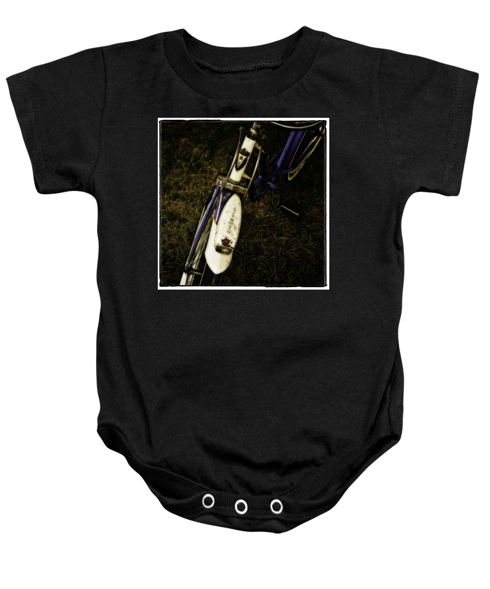 Interiors Baby Onesie featuring the photograph Roadmaster by Jerry Golab