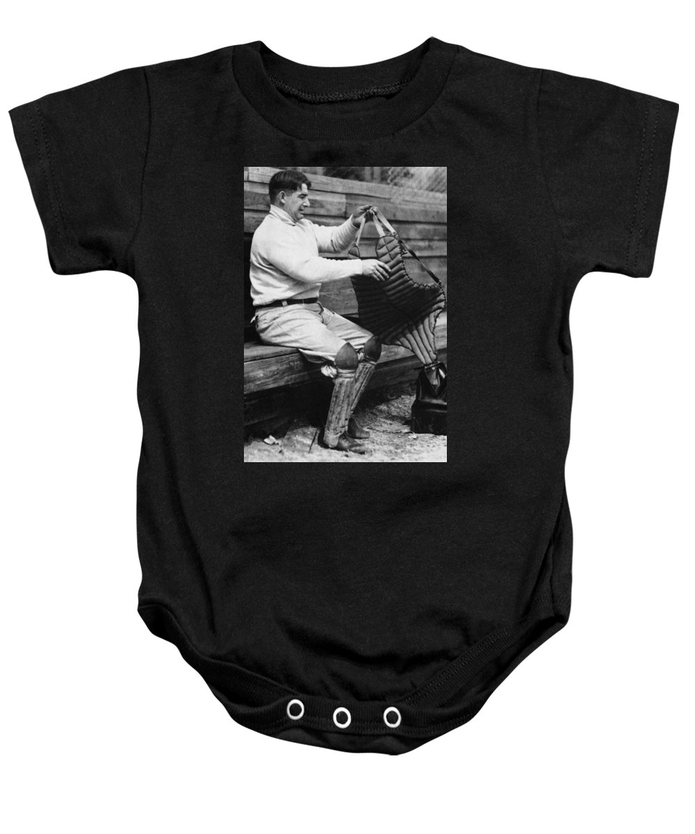 20th Century Baby Onesie featuring the photograph Roger Bresnahan (1879-1944) by Granger