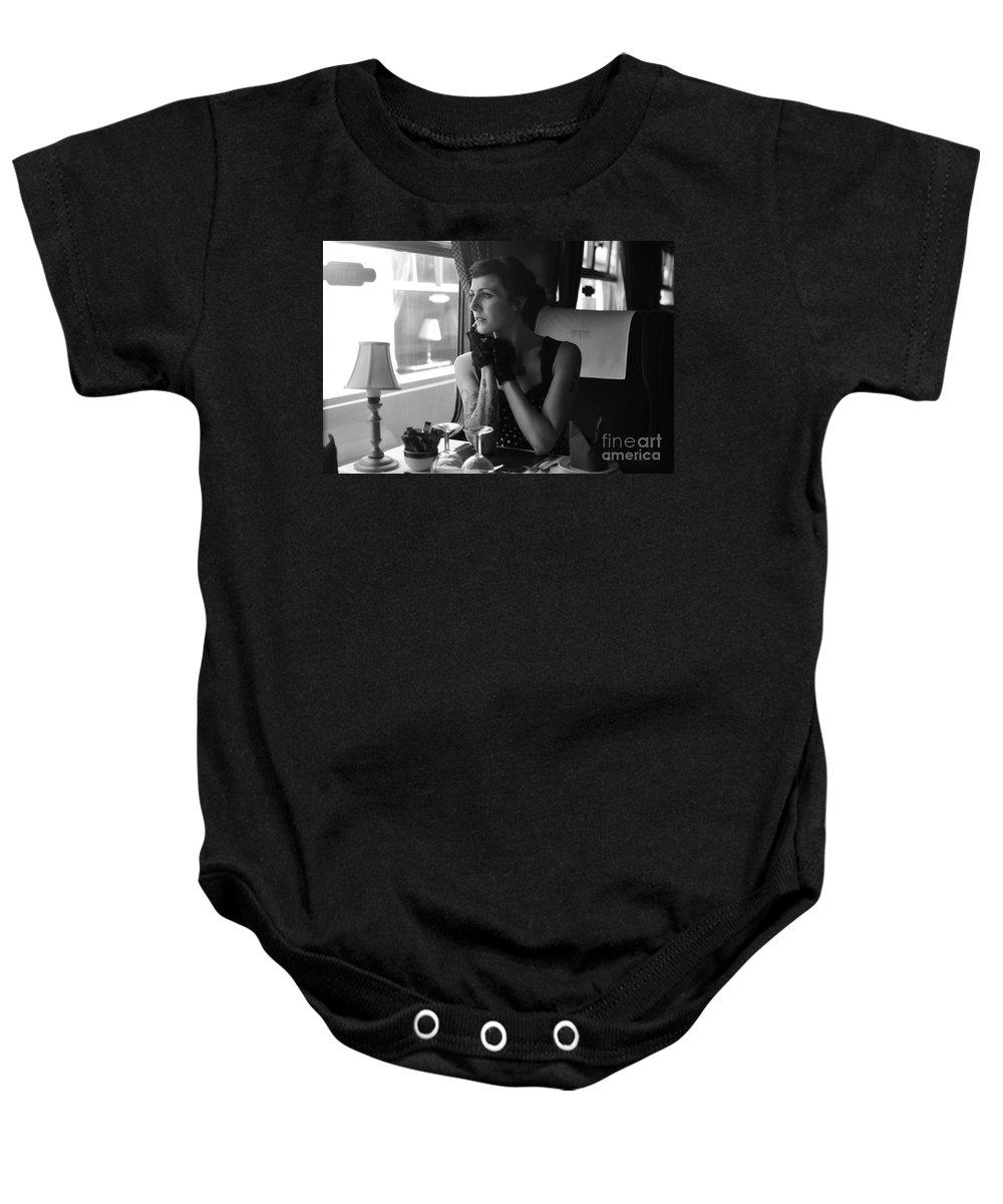 Yhun Suarez Baby Onesie featuring the photograph Sam4 by Yhun Suarez