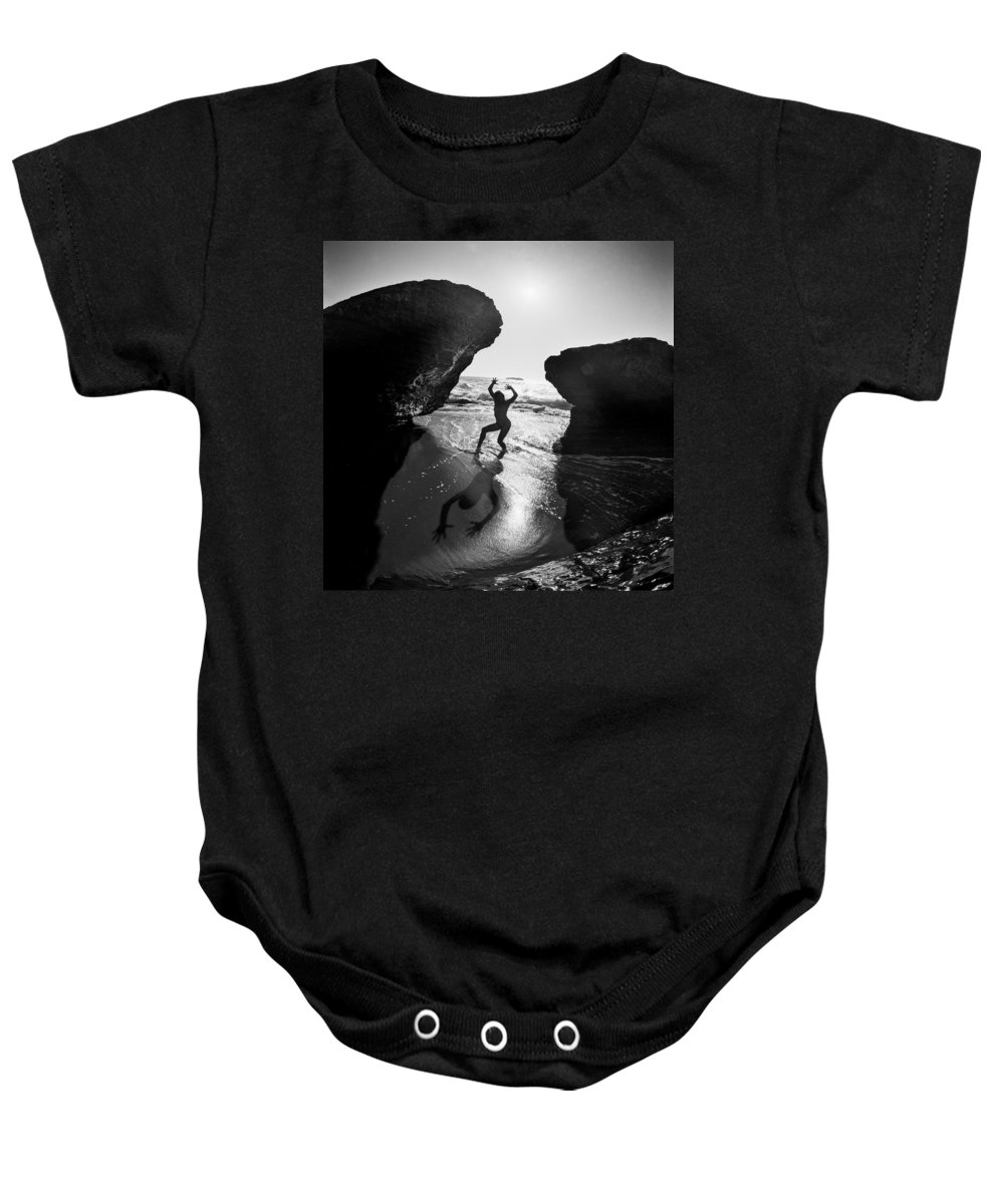 Nude Baby Onesie featuring the photograph Santa Cruz Nude by Mike Penney