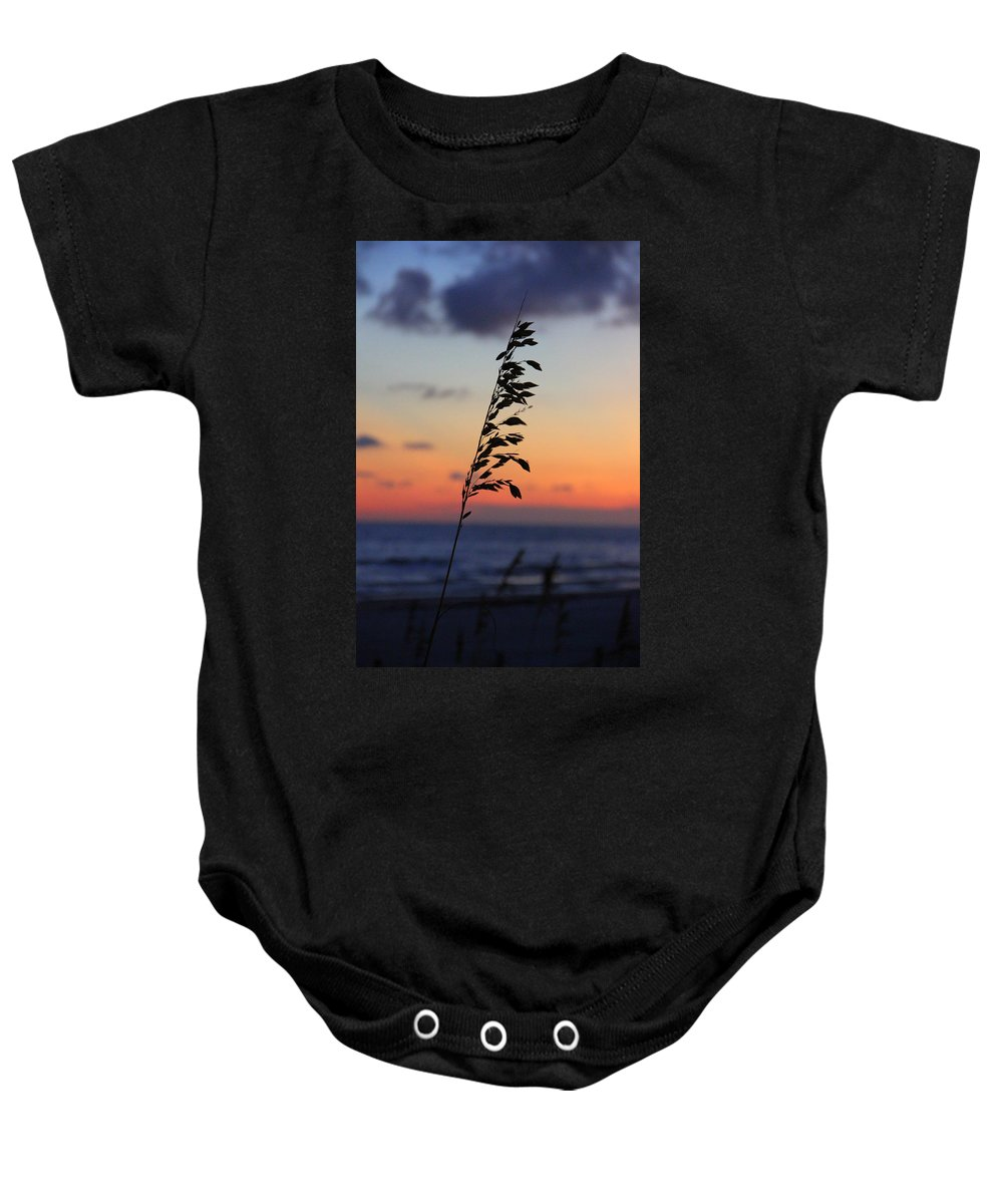 Colorful Baby Onesie featuring the photograph Sherbet Sky by May Photography