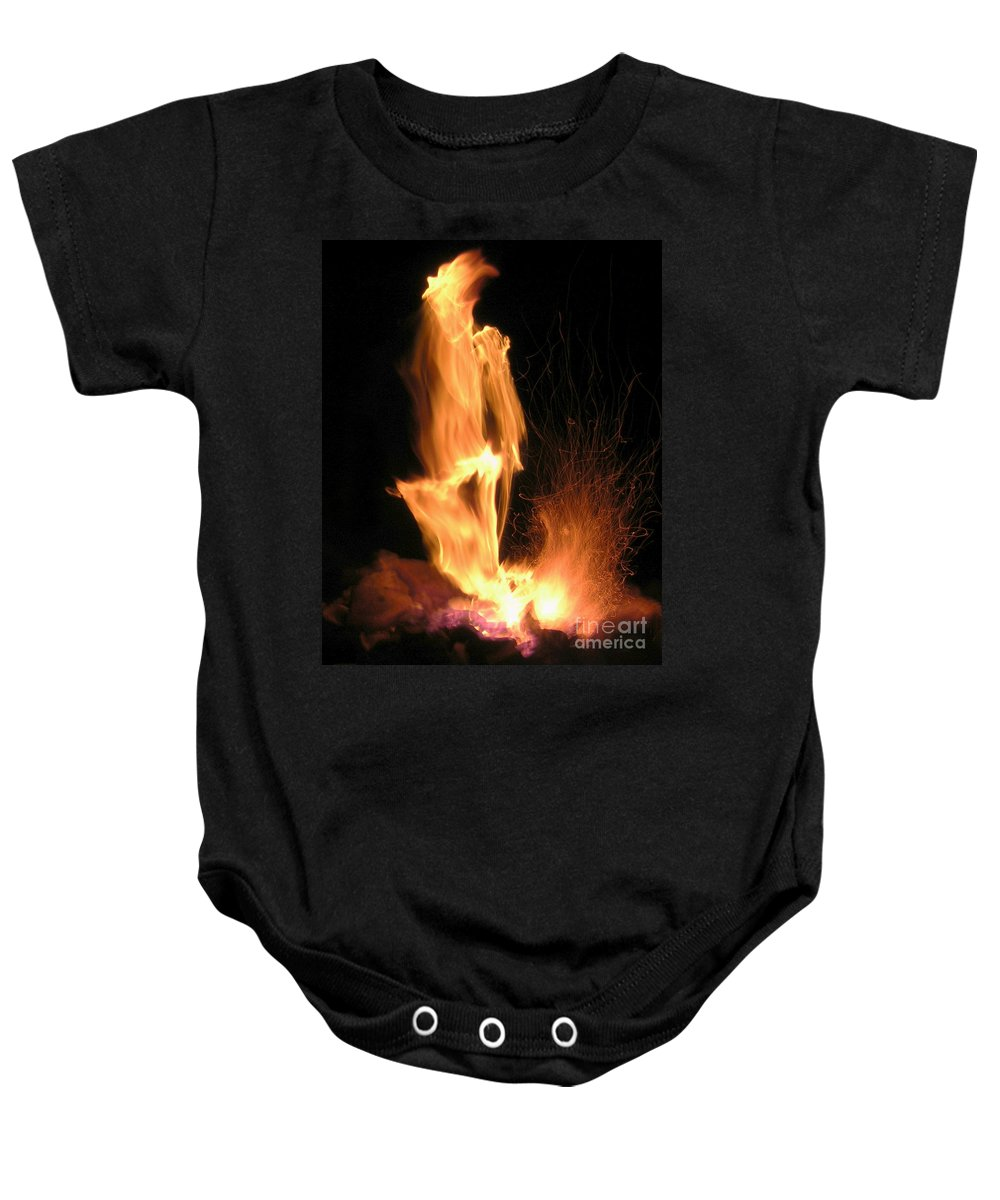 Fire Baby Onesie featuring the photograph Skeletor by Anthony Wilkening
