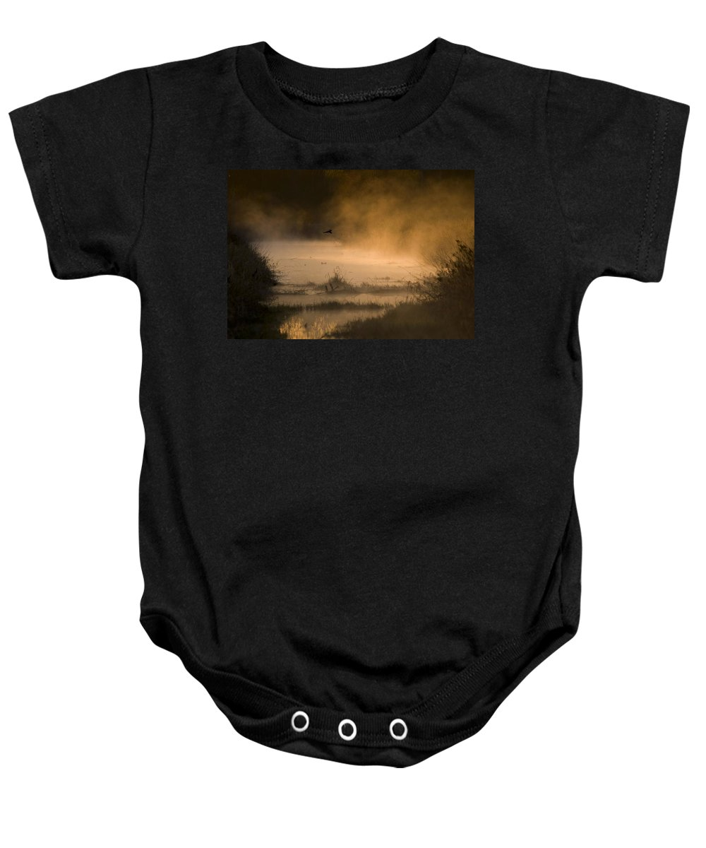 Creek Baby Onesie featuring the photograph Soul Rejuvenation by Martin Cooper