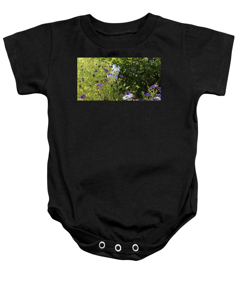 Spring Baby Onesie featuring the photograph Spring Garden 2 by Kume Bryant