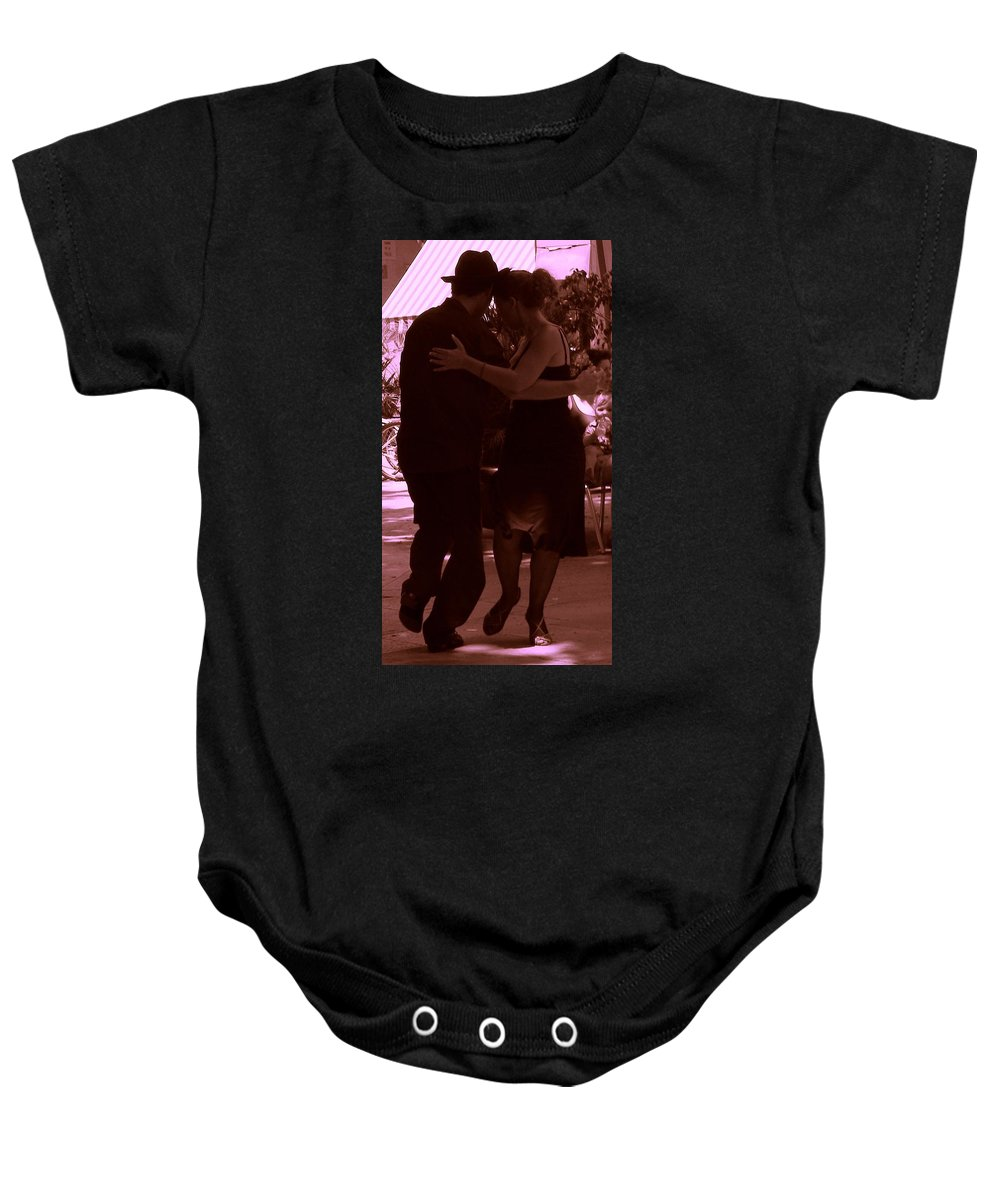 Tango Baby Onesie featuring the photograph Tango Barcelona by Marwan George Khoury