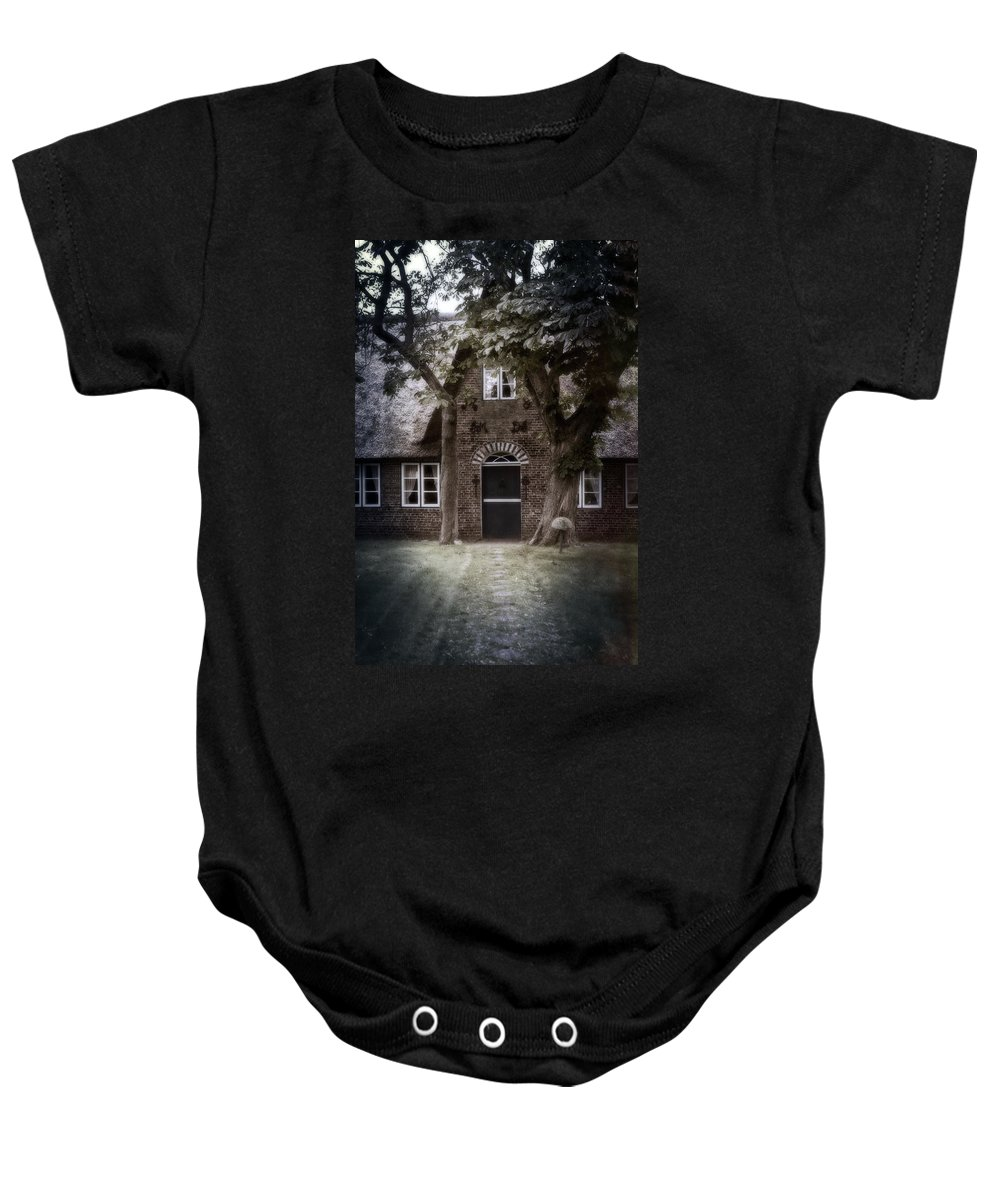 House Baby Onesie featuring the photograph Thatch by Joana Kruse
