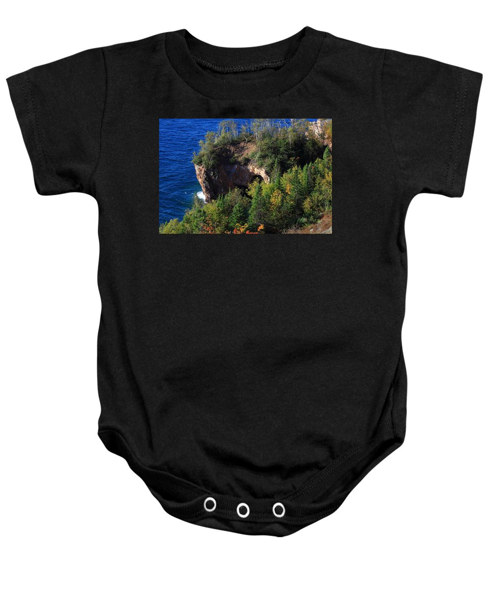 Baby Onesie featuring the photograph The Arch by Joi Electa