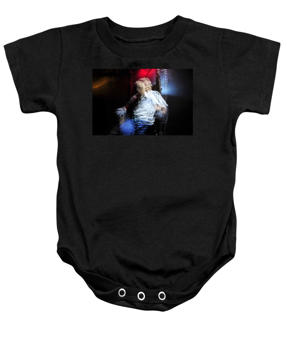 Creative Photography Baby Onesie featuring the photograph The Art Of Execution by David Lee Thompson