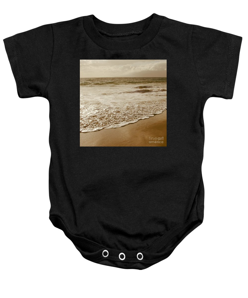 Beaches Baby Onesie featuring the photograph The Divine Music Of Love by Sharon Mau