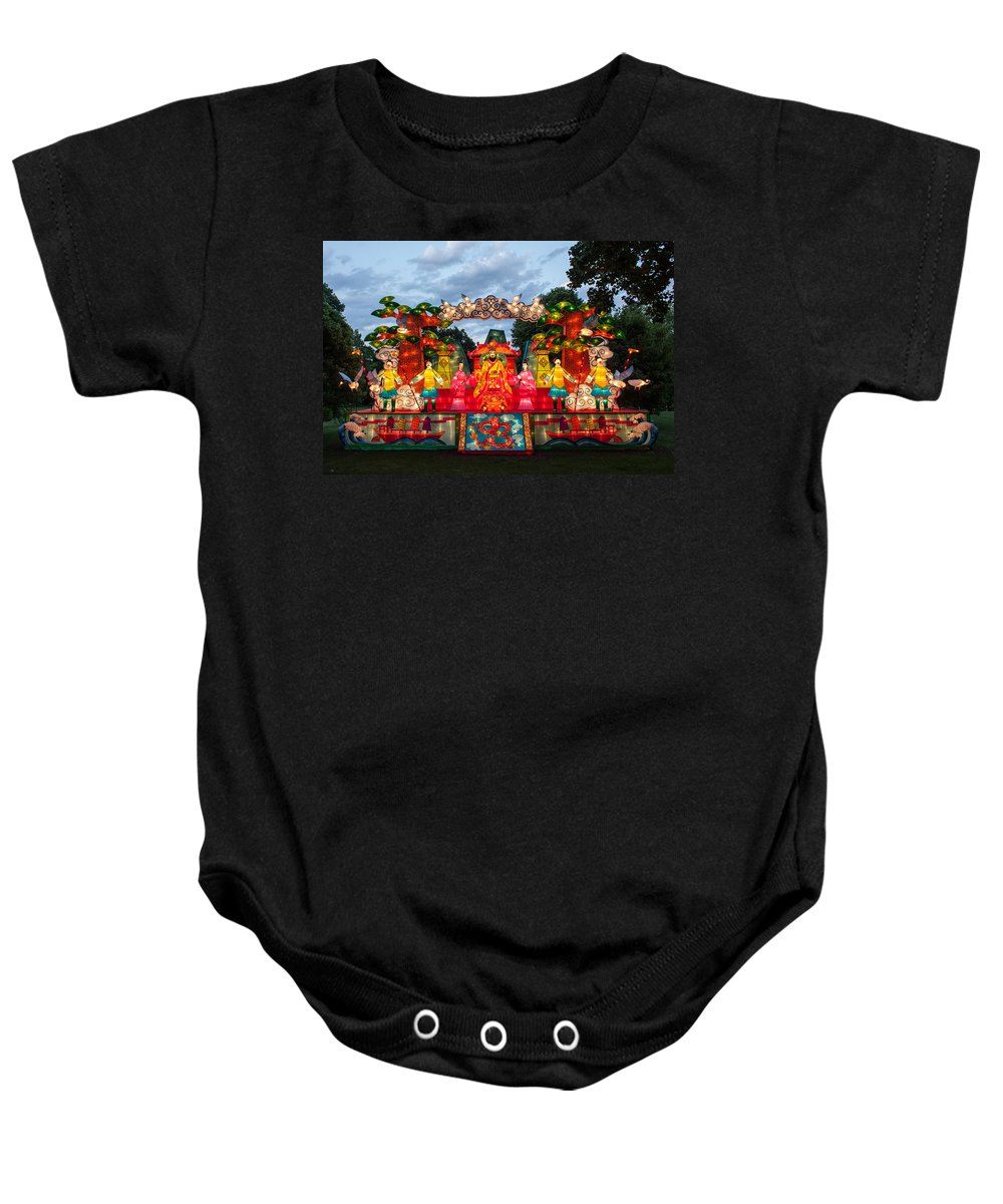 Art Baby Onesie featuring the photograph The First Emperor's Quest For Immortality by Semmick Photo
