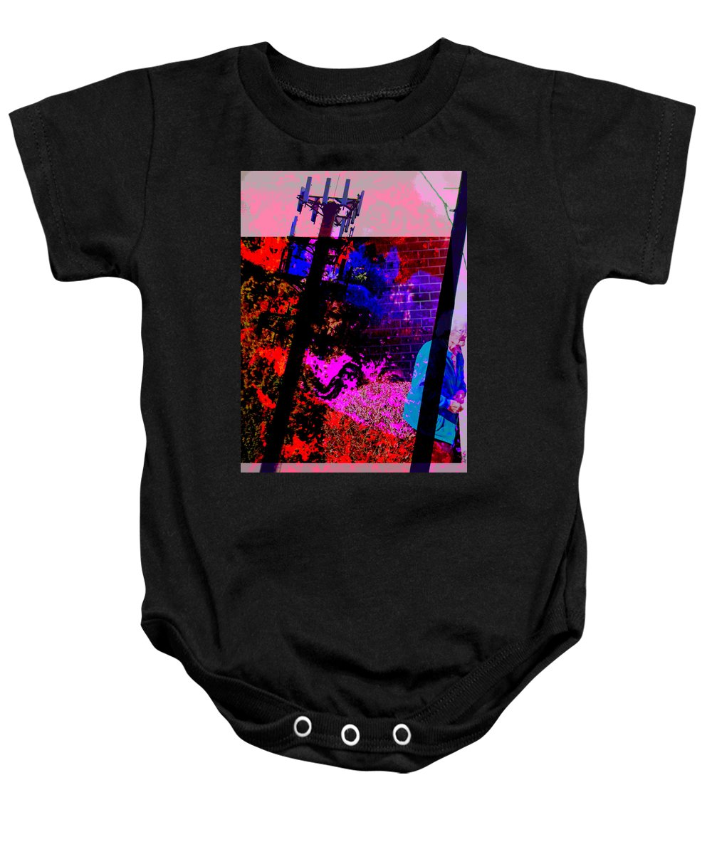 Abstract Baby Onesie featuring the photograph The Future Of Nuclear Energy by Lenore Senior