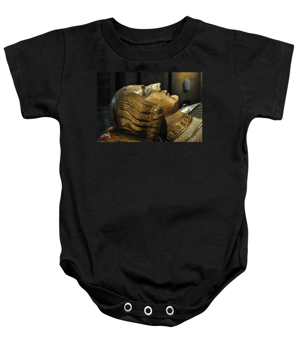 Tomb Baby Onesie featuring the photograph The Royal Tomb Of Count Gerard Van Gelder Iv by Mary Machare